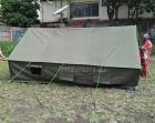 Stok tenda pengungsi jumlah besar