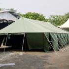 Tenda darurat pengungsi gempa bumi