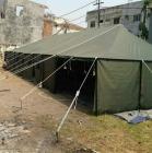 Tenda pengungsi korban bencana
