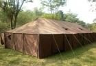 Produksi tenda pengungsi korban Bencana